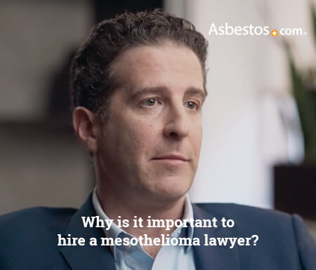 Mesothelioma lawyer importance video