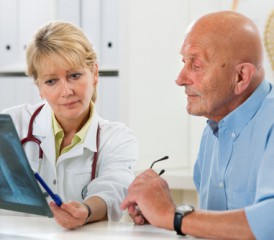 Patient Receiving a Cancer Diagnosis