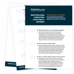 Mesothelioma Caregiver Brochures