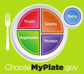 Logo for Choosemyplate.org
