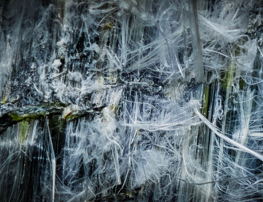 chrysotile asbestos fibers