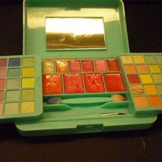 Claire's makeup kit