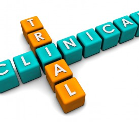 The words clinical and trial in crossword formation