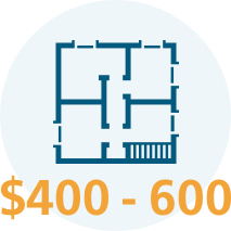 Home inspection cost diagram