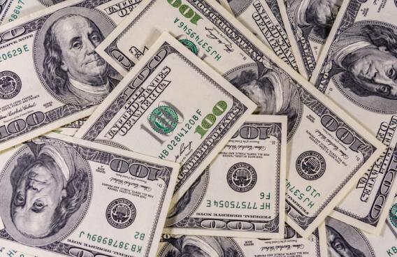 United States one-hundred-dollar bills