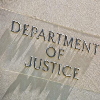 Department of Justice building in Washington, D.C.