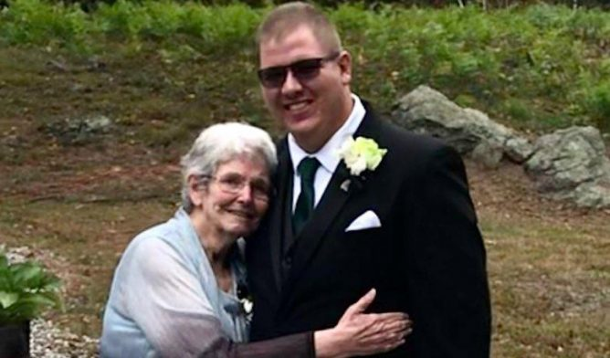 Emily Ward and her nephew Tyler