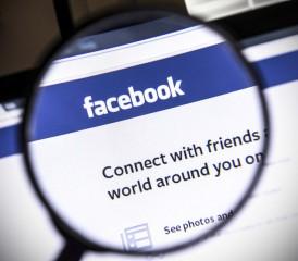 Magnifying Glass on Facebook website