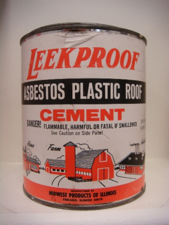 Farmers asbestos plastic roof cement