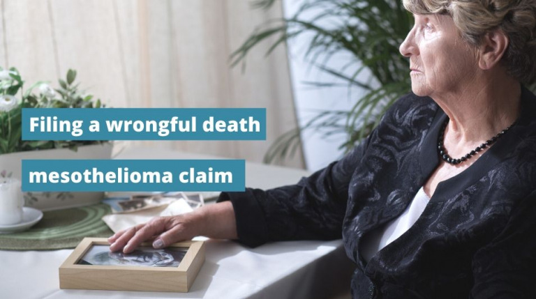 Video about filing a mesothelioma claim after a loved one dies