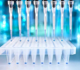 Vials in a lab