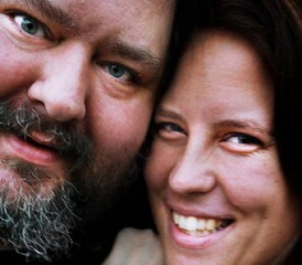 Mesothelioma Victim George Schottl and Sara Main