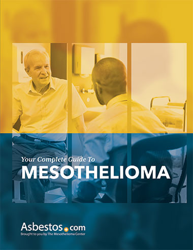 Mesothelioma guide cover page