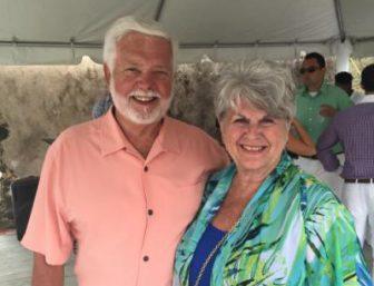 Mesothelioma survivor Gene Hartline and his wife