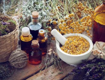 Healing herbs and oils