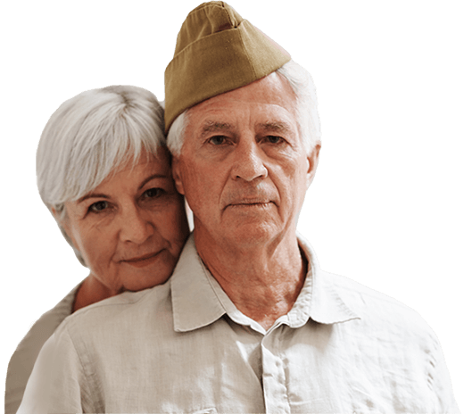 Veteran and caregiver