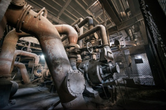 Interior of an industrial plant