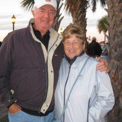 Pleural Mesothelioma Survivor Jack Riordan with his wife