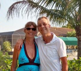 Mesothelioma Survivor John Owens and his wife, Colleen