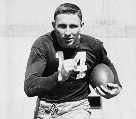 Johnny Lattner football player