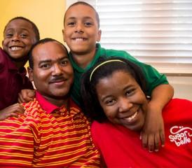 Mesothelioma Survivor Kasie Coleman and her family