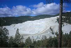 Asbestos Mine in California