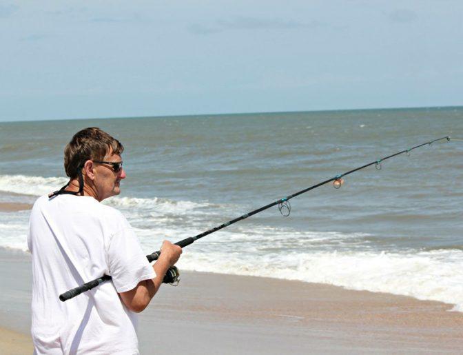 Lannie Chitwood fishing