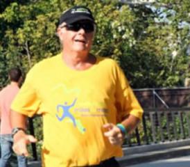 Larry Davis races in Miles for Meso