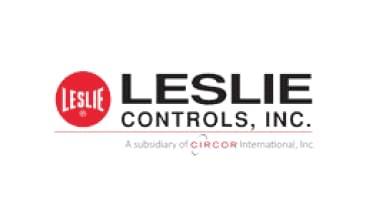 Leslie Controls logo