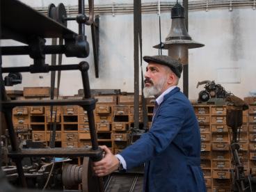 Linotype technician