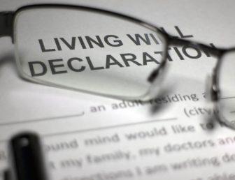 Living Will Declaration Document