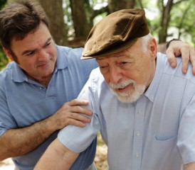 Male Caregiver Taking Care of a Patient