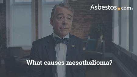 Video of mesothelioma expert Dr. Marcelo DaSilva explaining what causes mesothelioma.