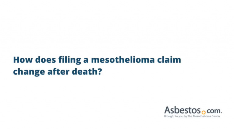 Filing a Mesothelioma Claim After Death video thumbnail