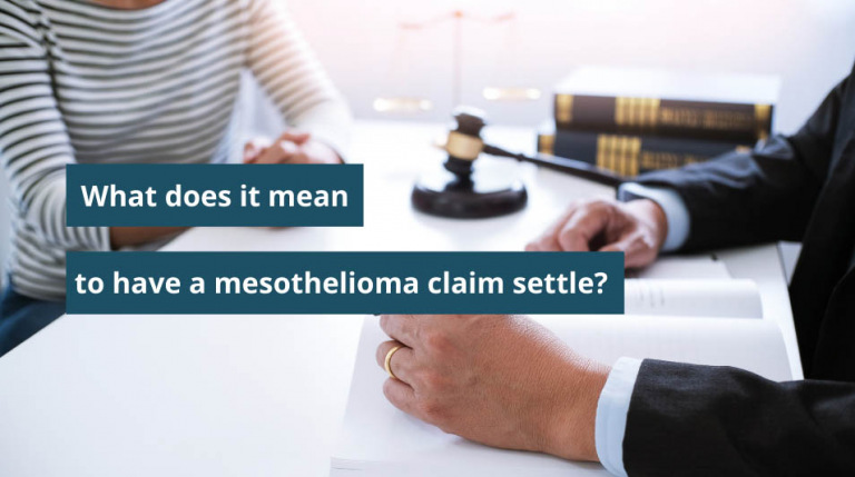 Video about the pros and cons of mesothelioma settlements