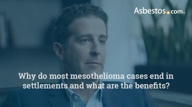 Mesothelioma settlement benefits video thumbnail