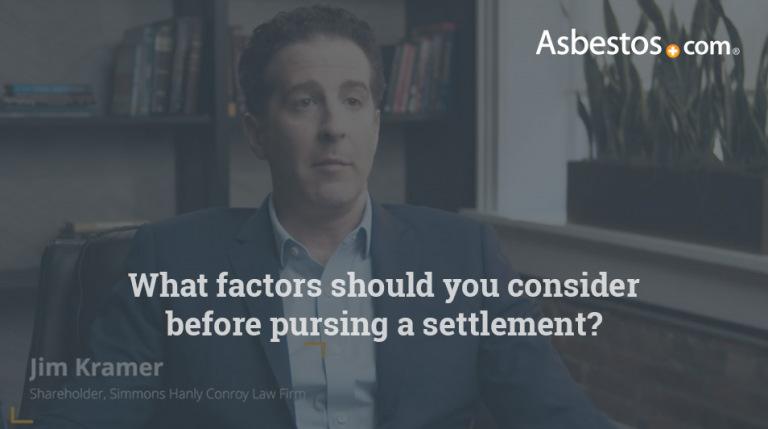 Mesothelioma settlement factors video thumbnail