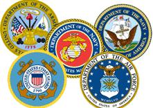 U.S. Military Crests