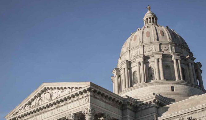 Missouri State Capitol Building Dome