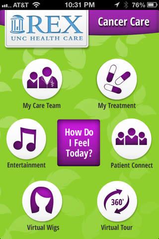 Rex UNC Healthcare Mobile App