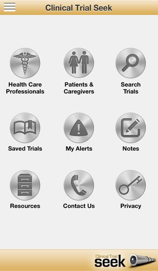 Clinical Trial Seek Mobile App