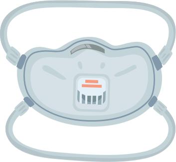NIOSH-Approved Facepiece Respirator
