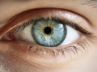 Opened eye