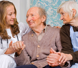 Older patients with a female doctor