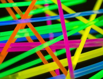 colored lights fluorescent neon