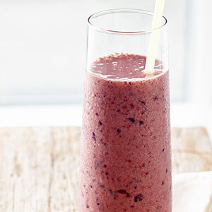 Berry Cherry High-Protein Smoothie