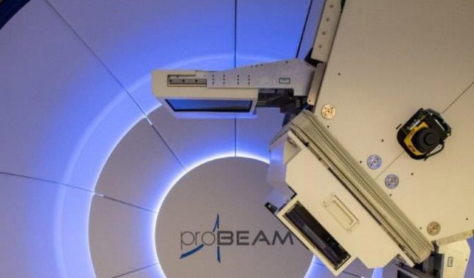 Proton beam delivery system