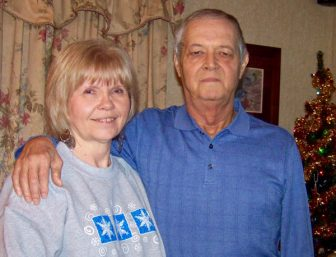 Randy Boudreaux with wife Jeanette