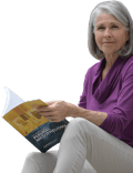 Woman Reading Mesothelioma Packet