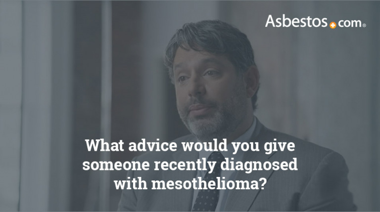 Mesothelioma diagnosis advice video thumbnail